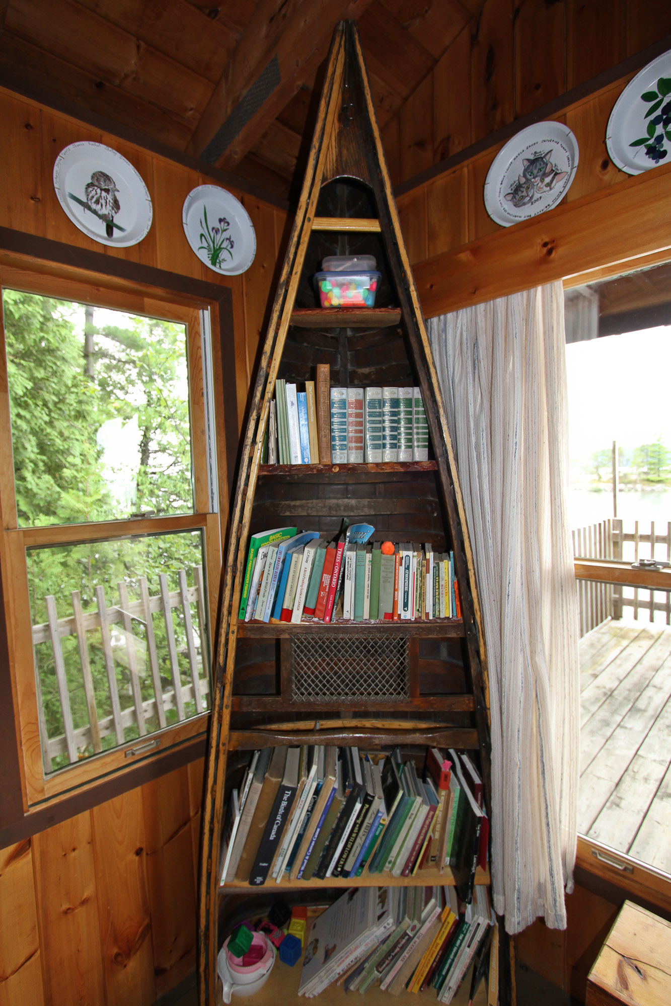 Books and Canoes!