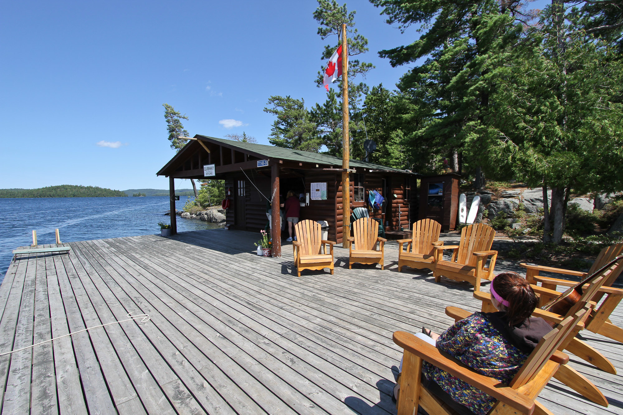 Ojibway Store and Main Dock
