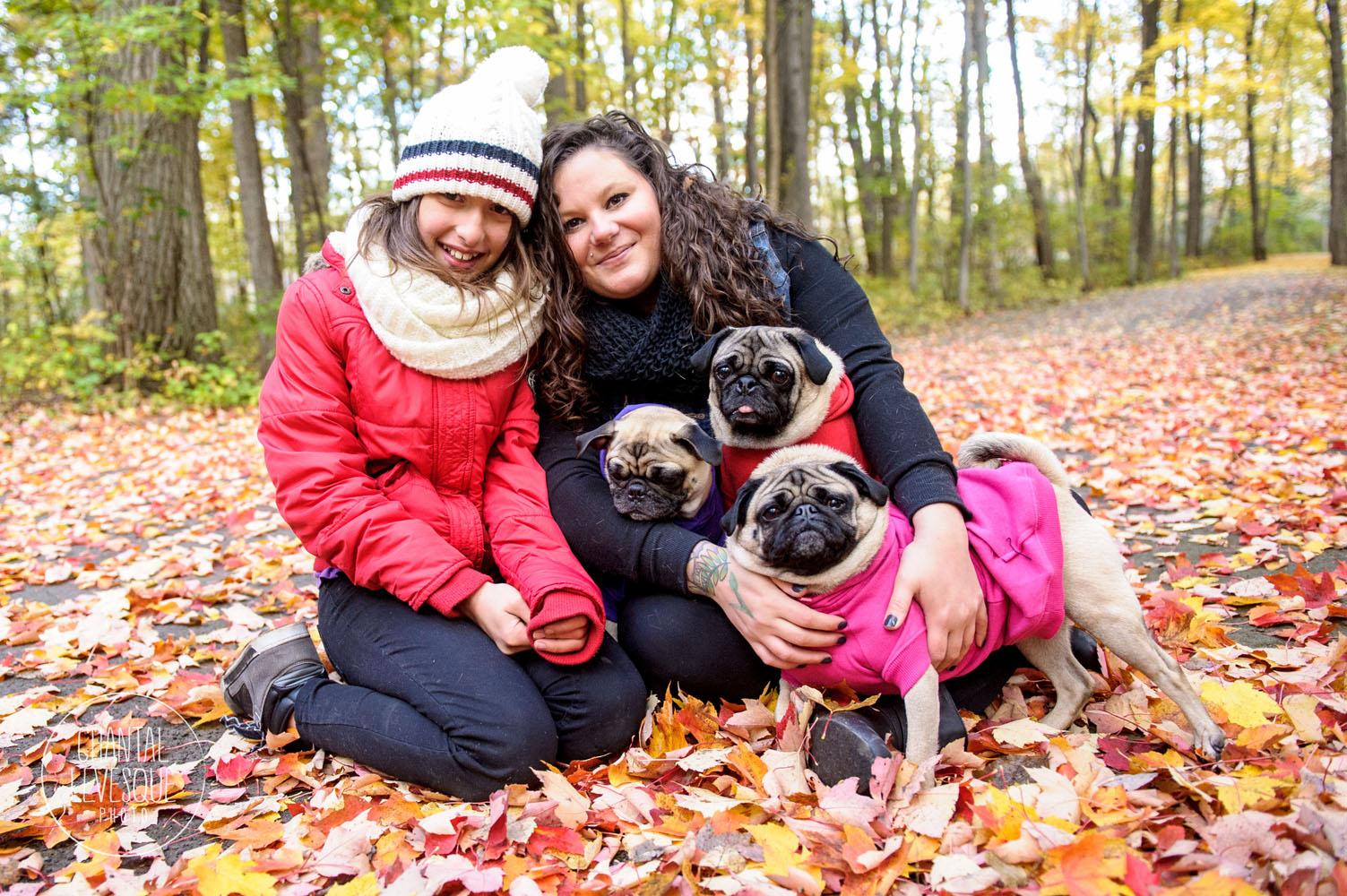 Une dernière photo de famille avant de quitter