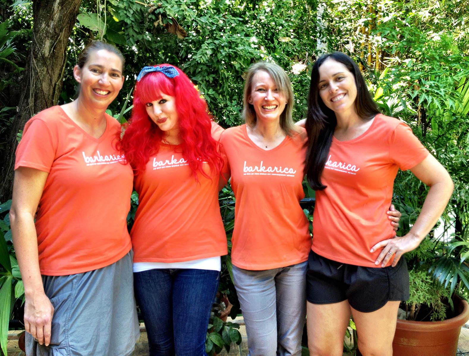 Nicole, Kaylee, moi, Charlotte