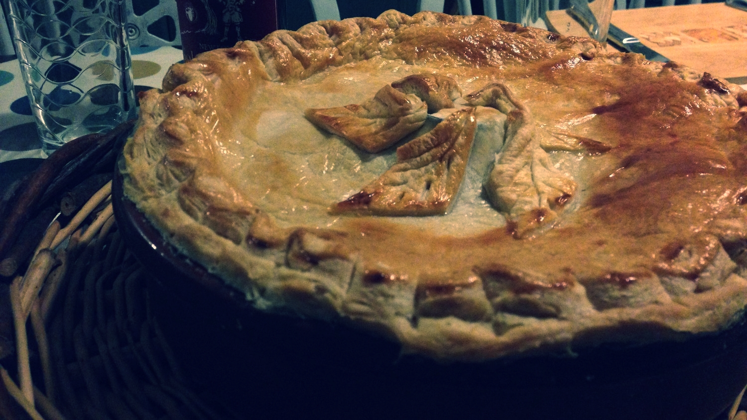 Tipsy Chicken Pie by Sylvia