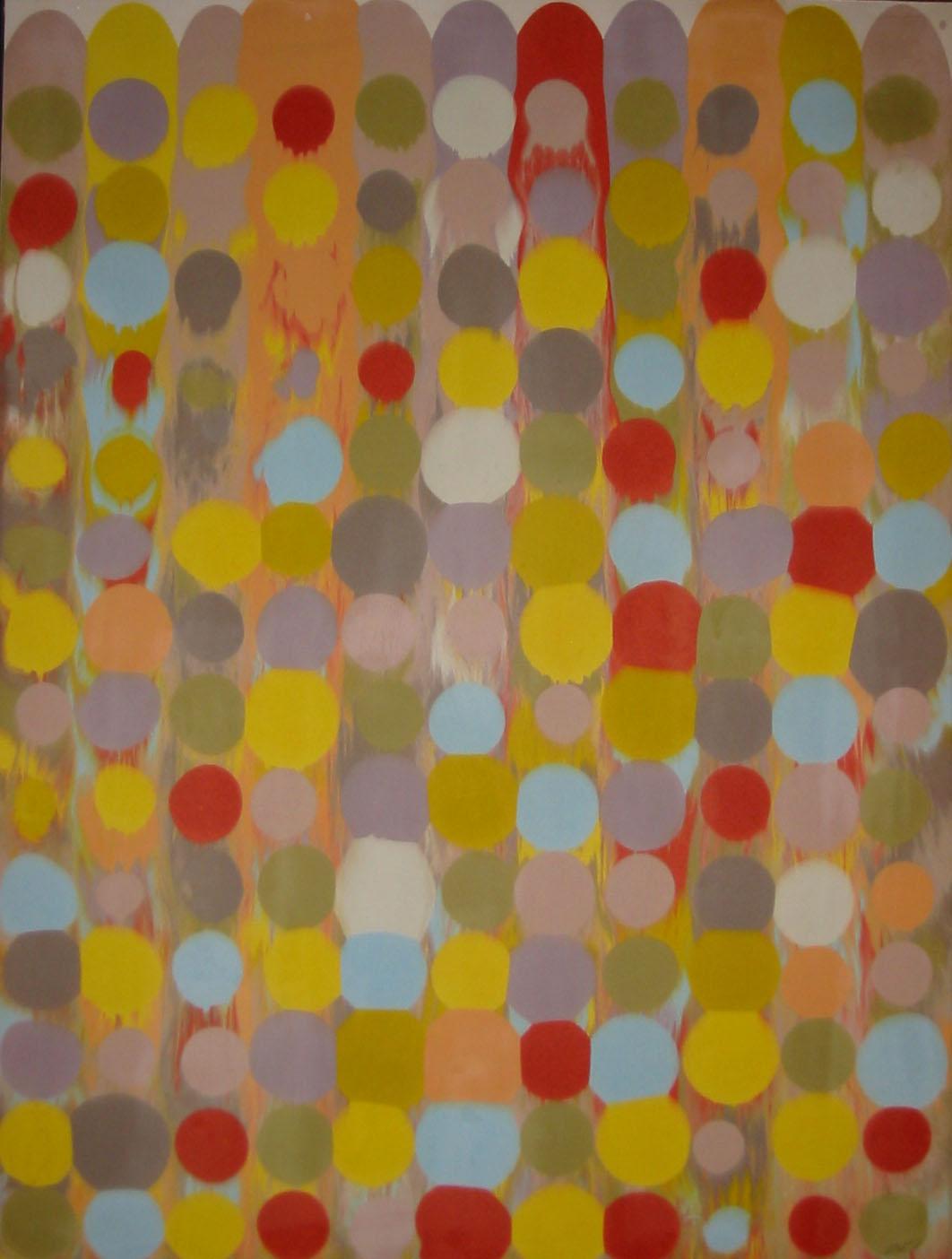 Point Array, Series I, No. 9