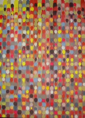 Point Array, Series I, No. 15