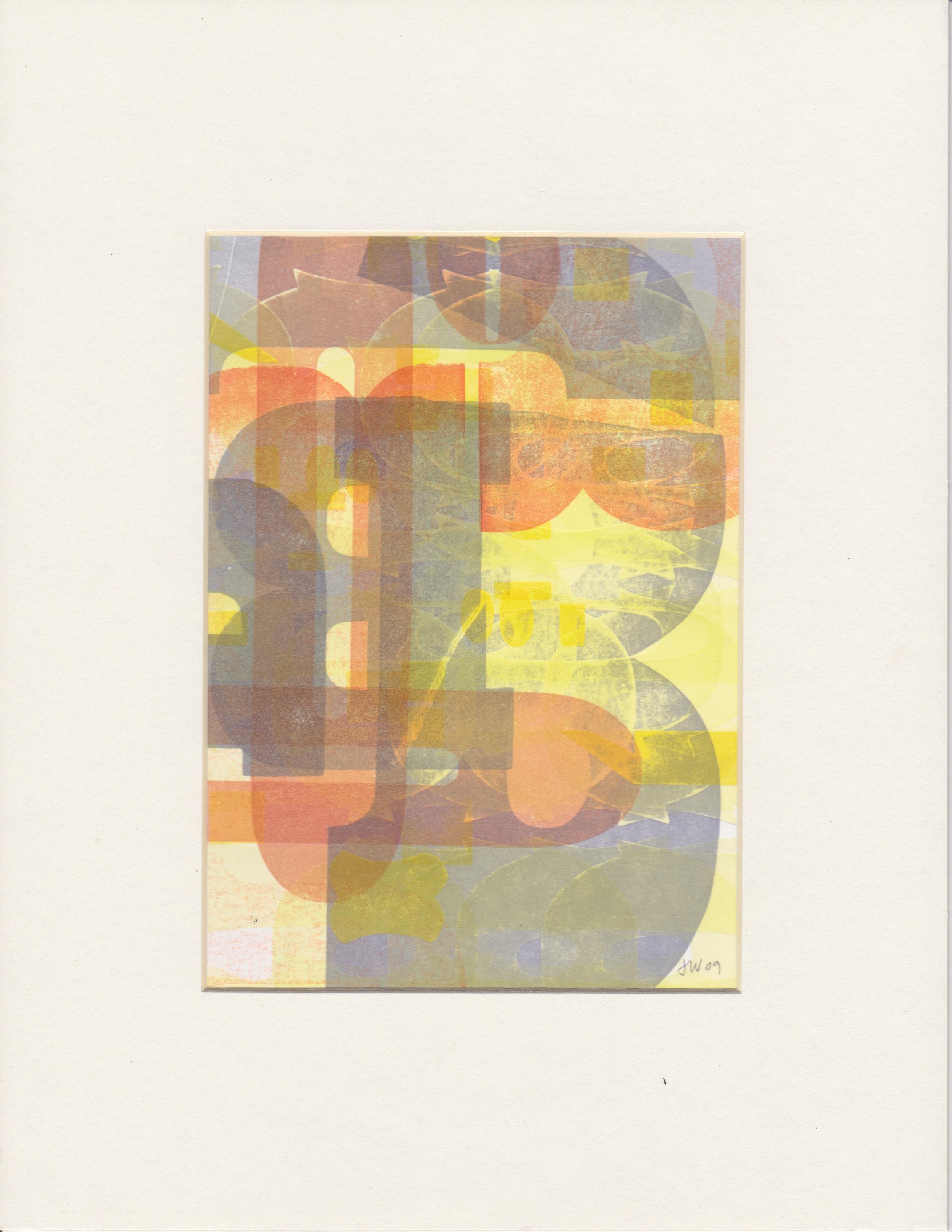 Woodtype Monotype 2