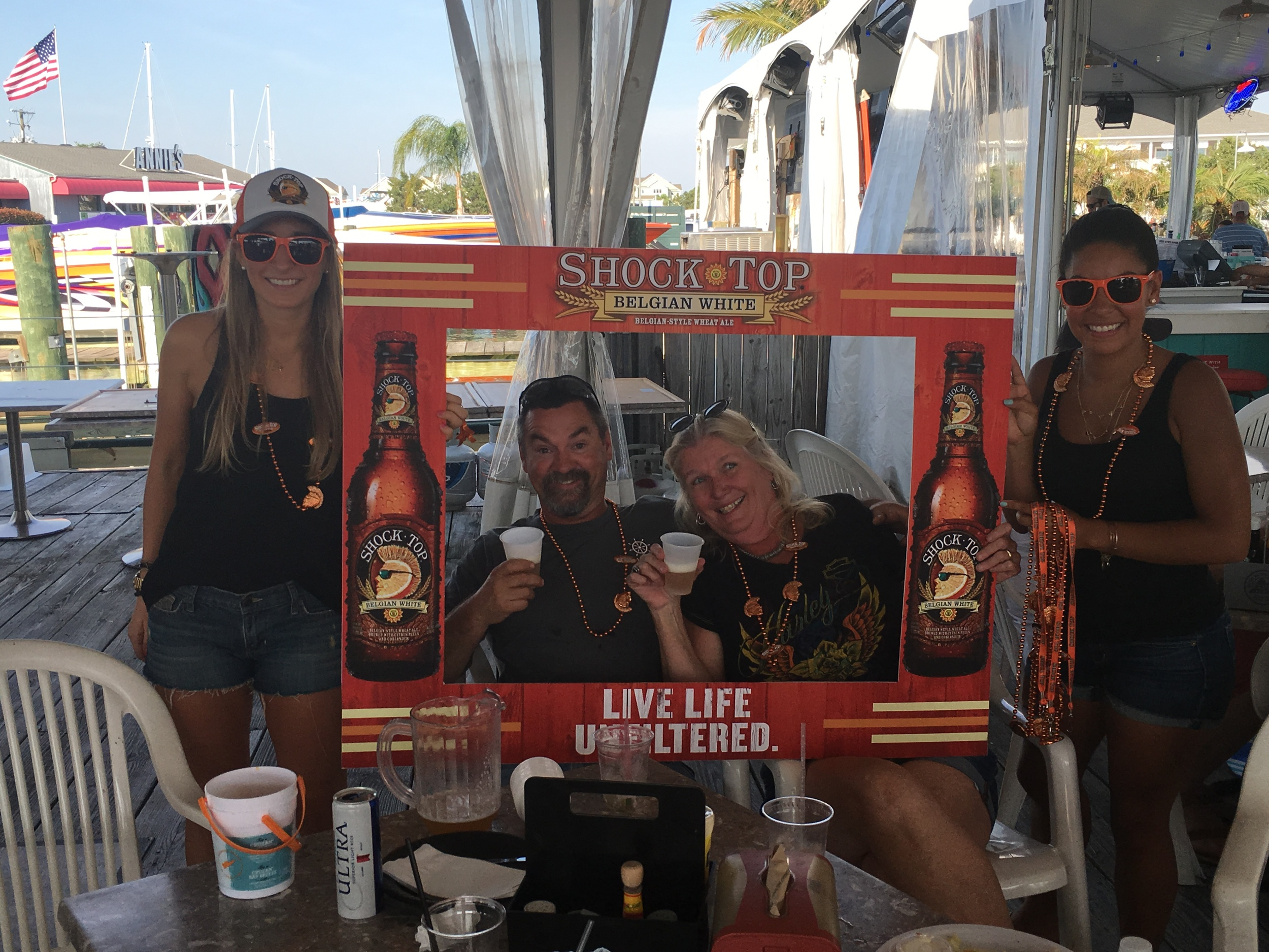 Shock Top Promotion at Red Eyes 6.11.16