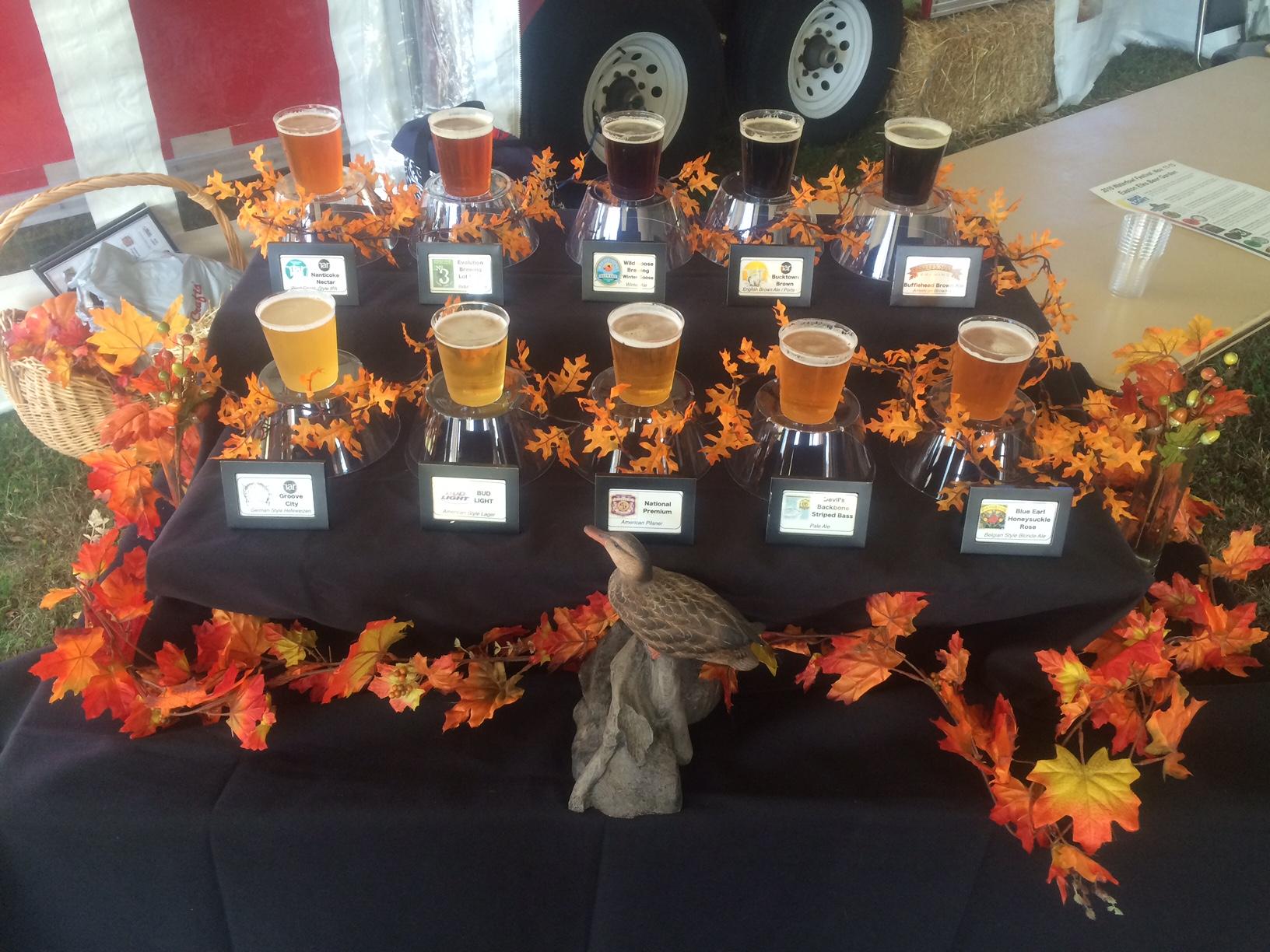 Easton Elks Beer Garden at Waterfowl Festival 11.12.16