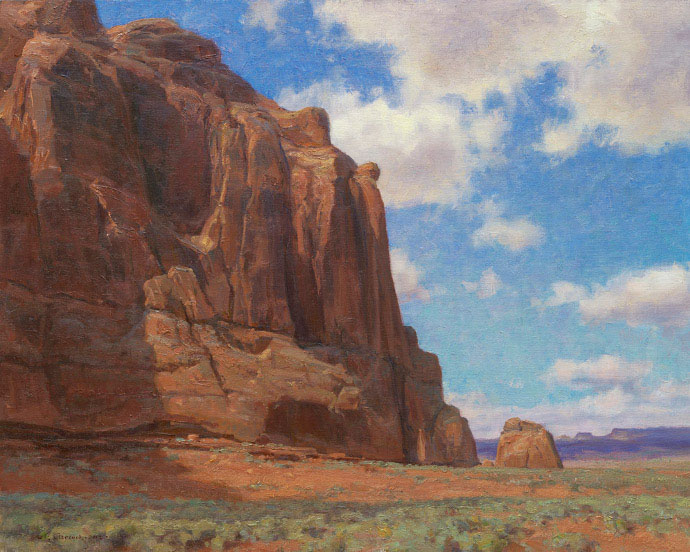 Canyon Lands by Clyde Aspevig