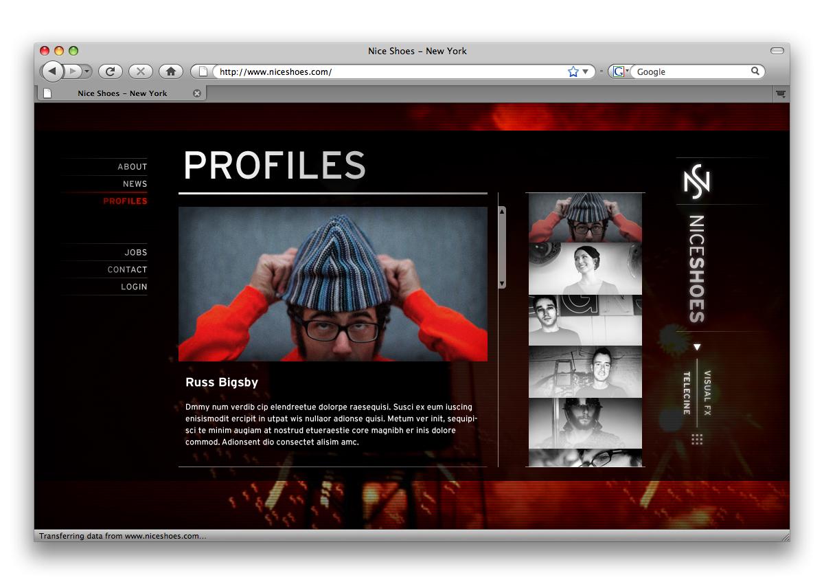 Nice Shoes Branding / Website