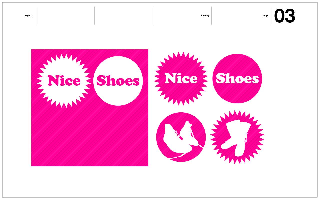 Nice Shoes Branding / Brand Identity Presentation
