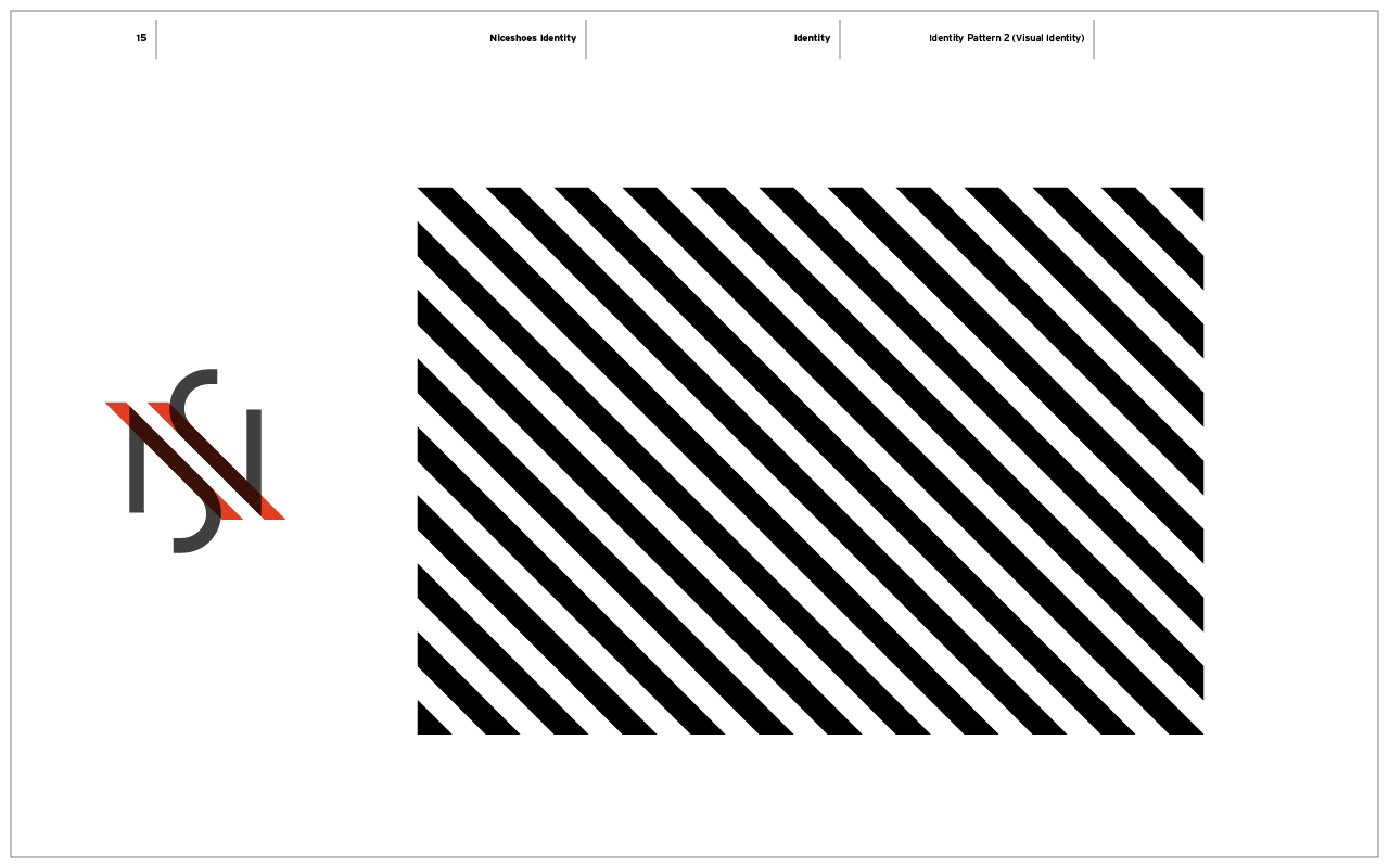 Nice Shoes Branding / Brand Pattern