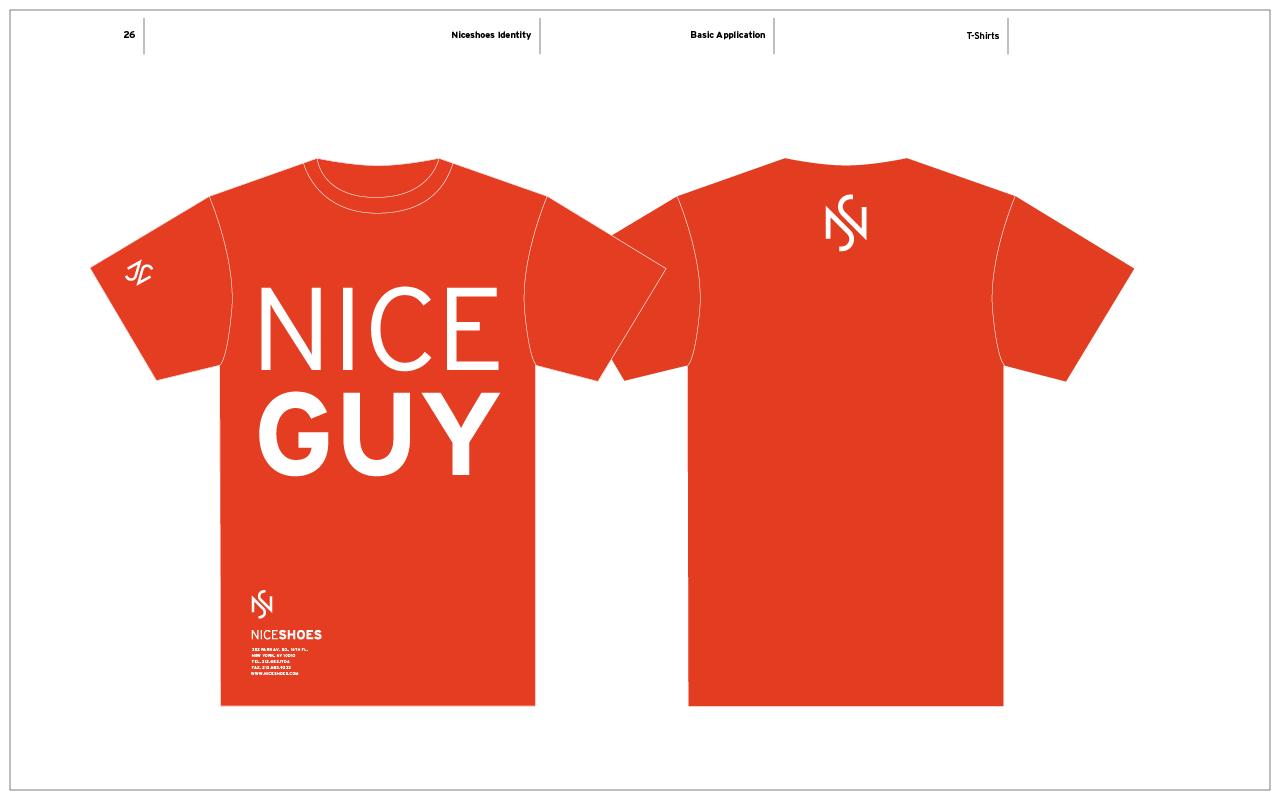 Nice Shoes Branding / T-Shirt