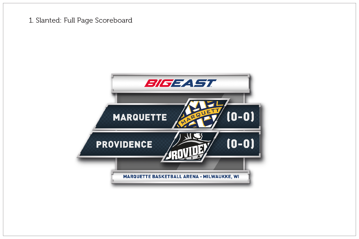 Big East Conference / Game Graphics / Option 1