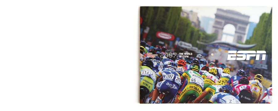The World of ESPN / Global Programing Highlights / Tour de France