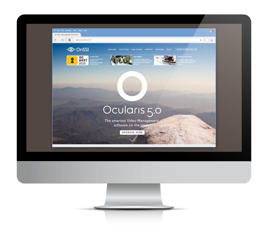 OnSSI Website Renewal / Homepage