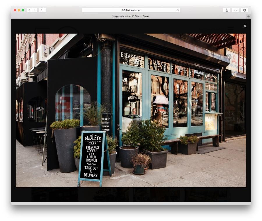 Douglas Elliman / 50 Clinton Street / Website