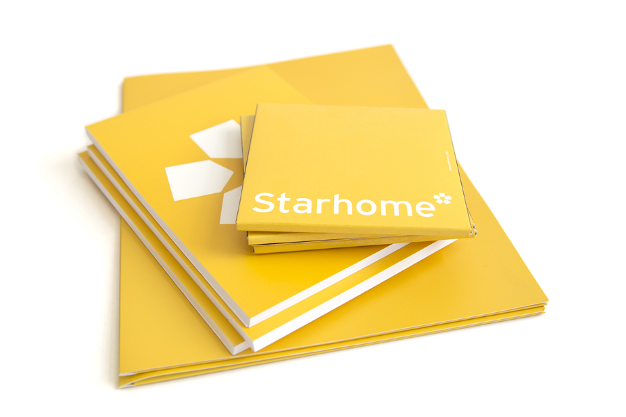 Starhome Re-Branding / Notepads and Booklet