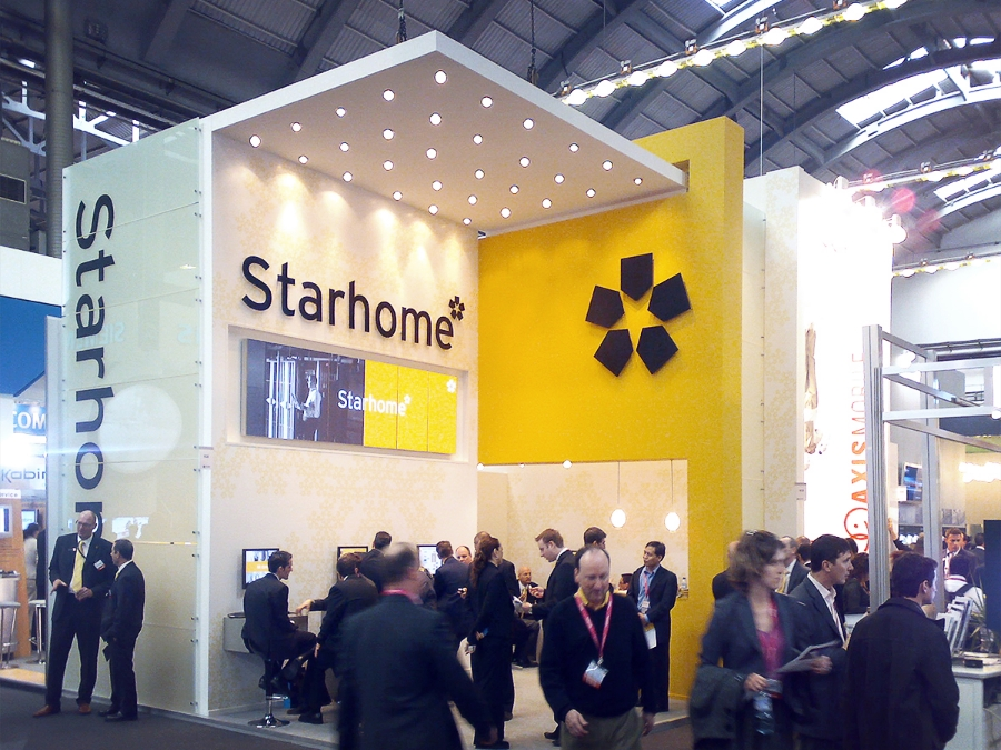 Starhome Re-Branding / Trade-show Booth