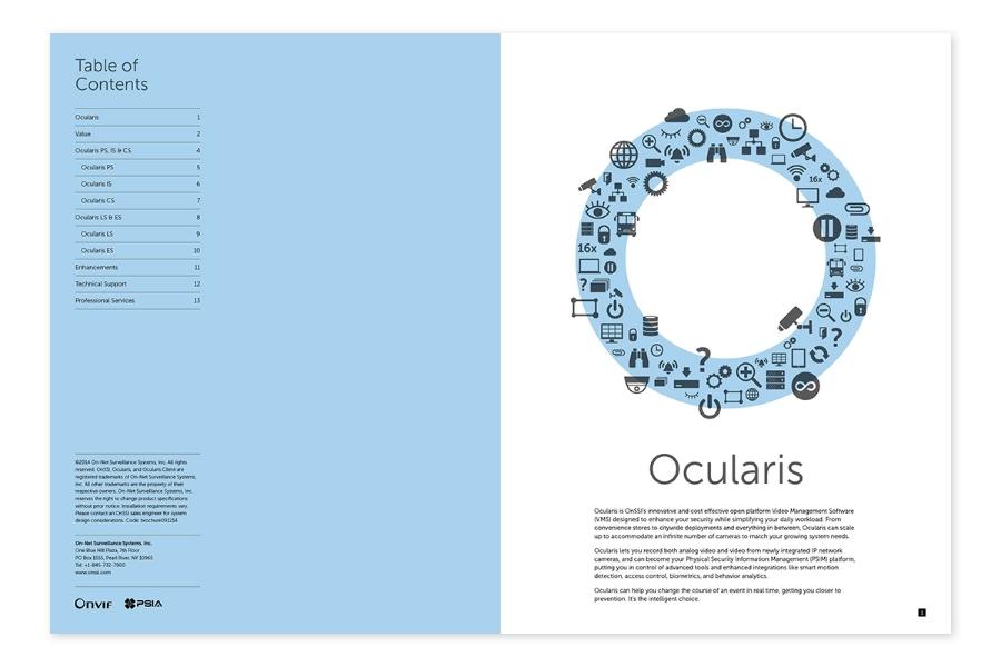 OnSSI Ocularis 4.0 / Branding / Brochure