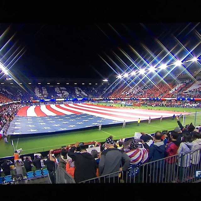 Lets do this @ussoccer !! #usahon #wcq