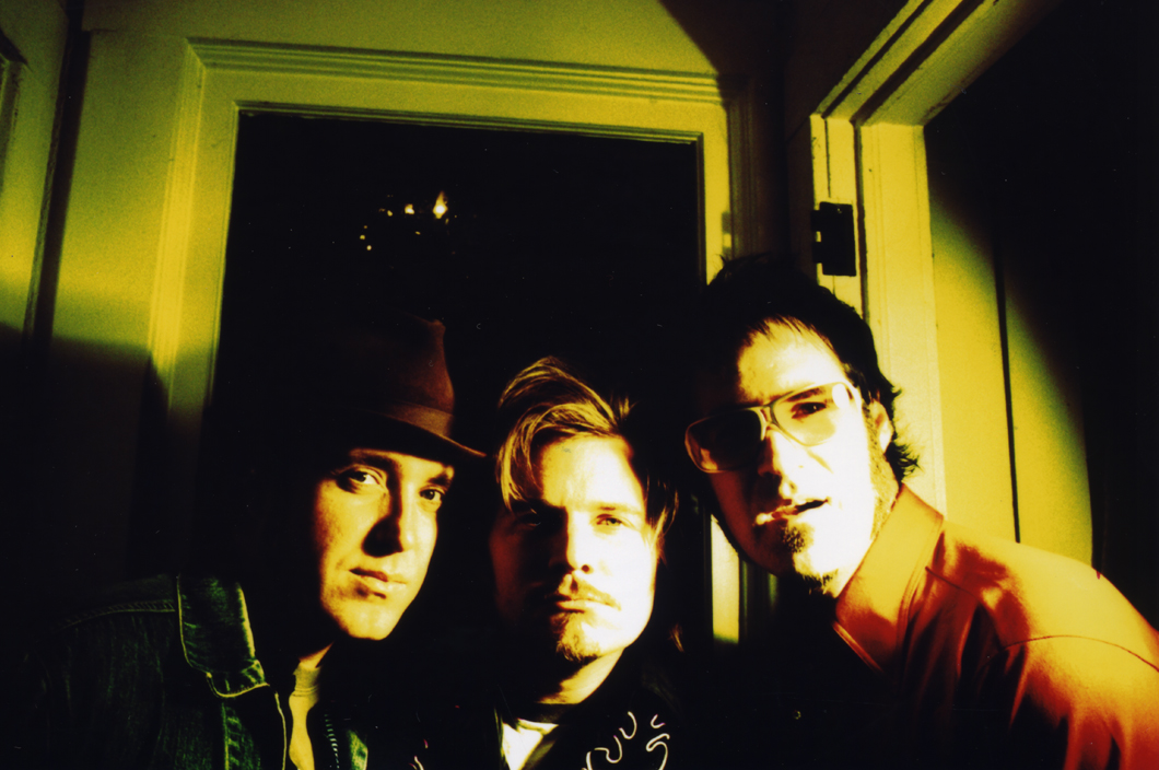 Truckee Brothers promo shoot at CHAOS for 'It Came From The Speakers' (2005). Photo Frank Lee Drennen