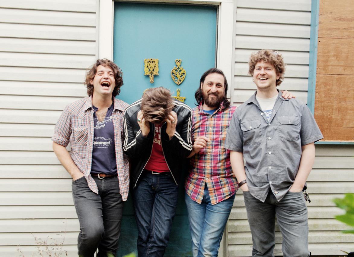 Justin Collins, Patrick, Adam Landry & Rob Crowell. Photo by Stacie Huckeba