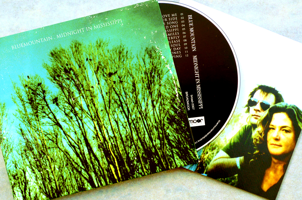 Blue Mountain CD (2010). Art Direction & Packaging Design. Photographer Frank Lee Drennen.