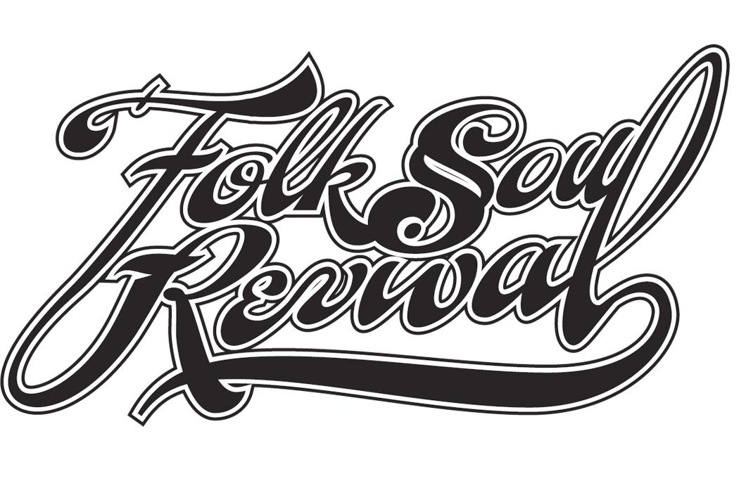 Logo (2012). Designed for VIrginia band Folk Soul Revival.