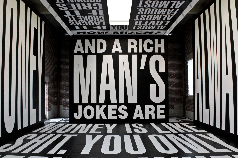 Money (Los Angeles, CA) Artist: Barbara Kruger