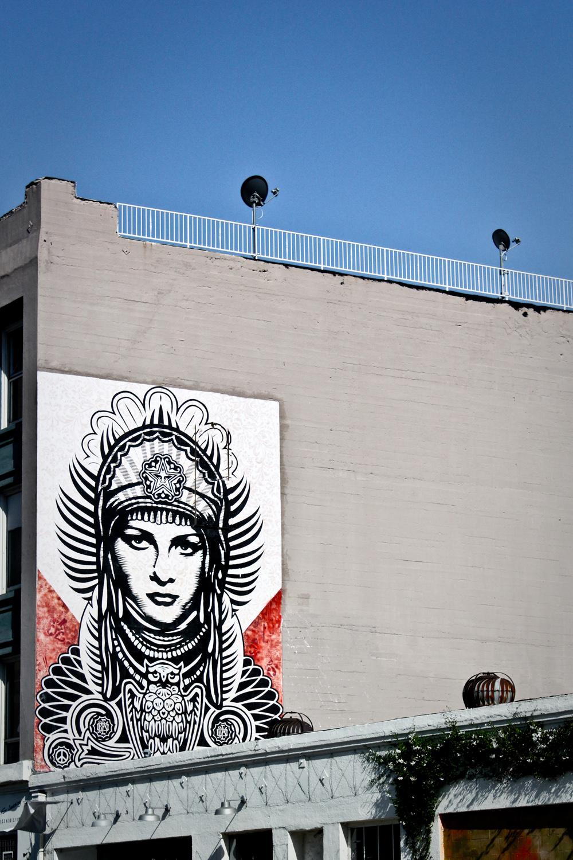 Obey (Los Angeles, CA) Artist: Shepard Fairey