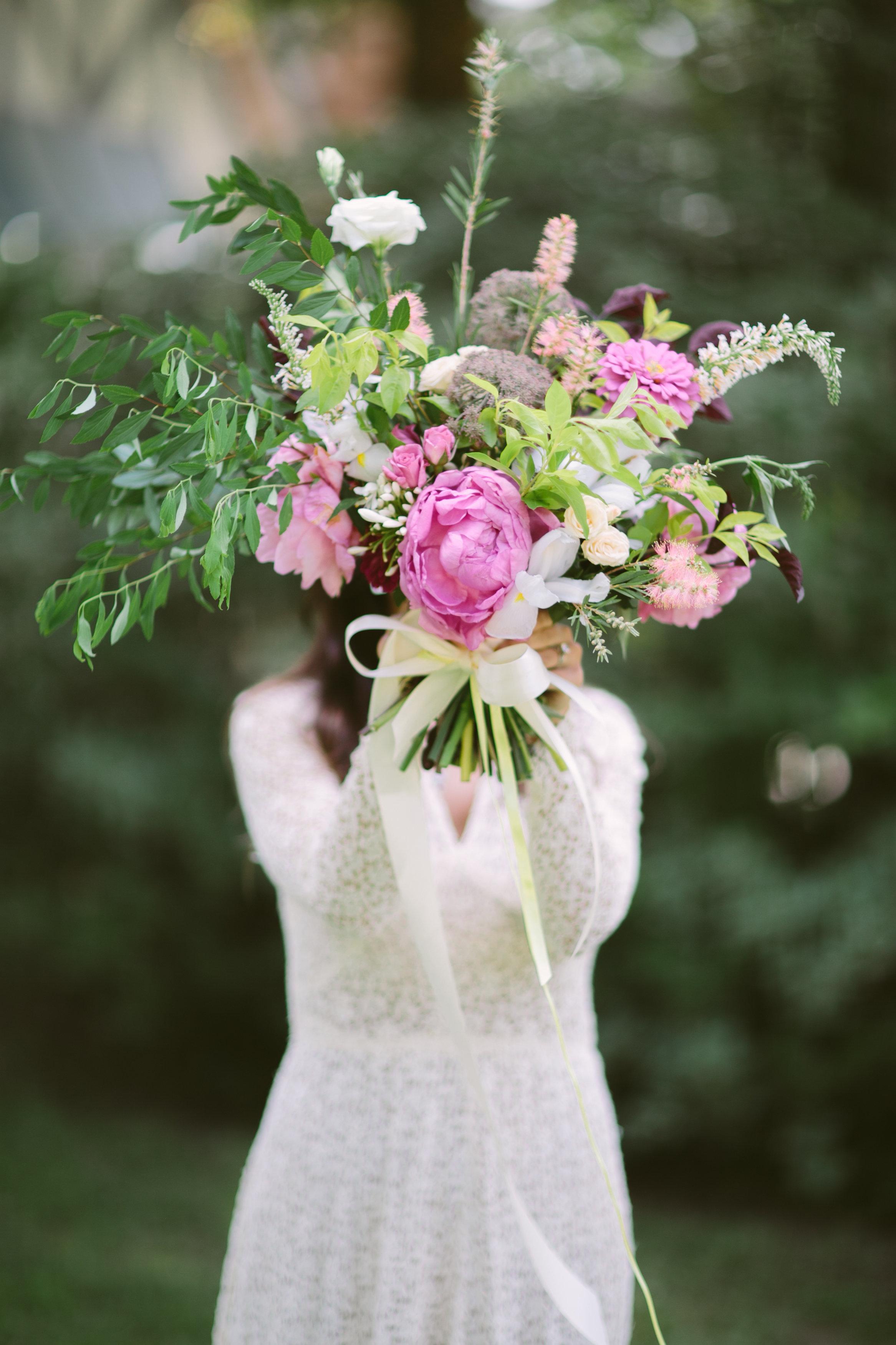 Maxit Flower Design; bridal bouquet, Korie Lynn Photographer