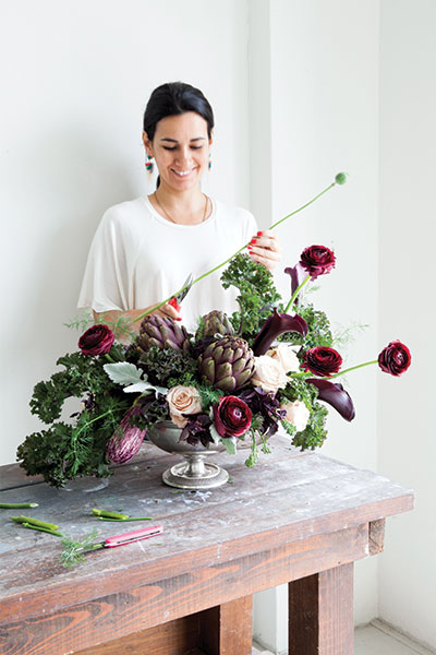 Maxit Flower Design for flower Magazine, Fall Inspiration DIY Arrangement