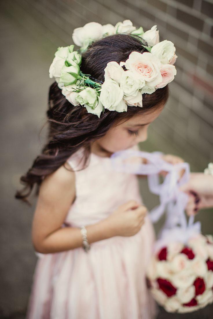 Flower Crown for Flower Girl