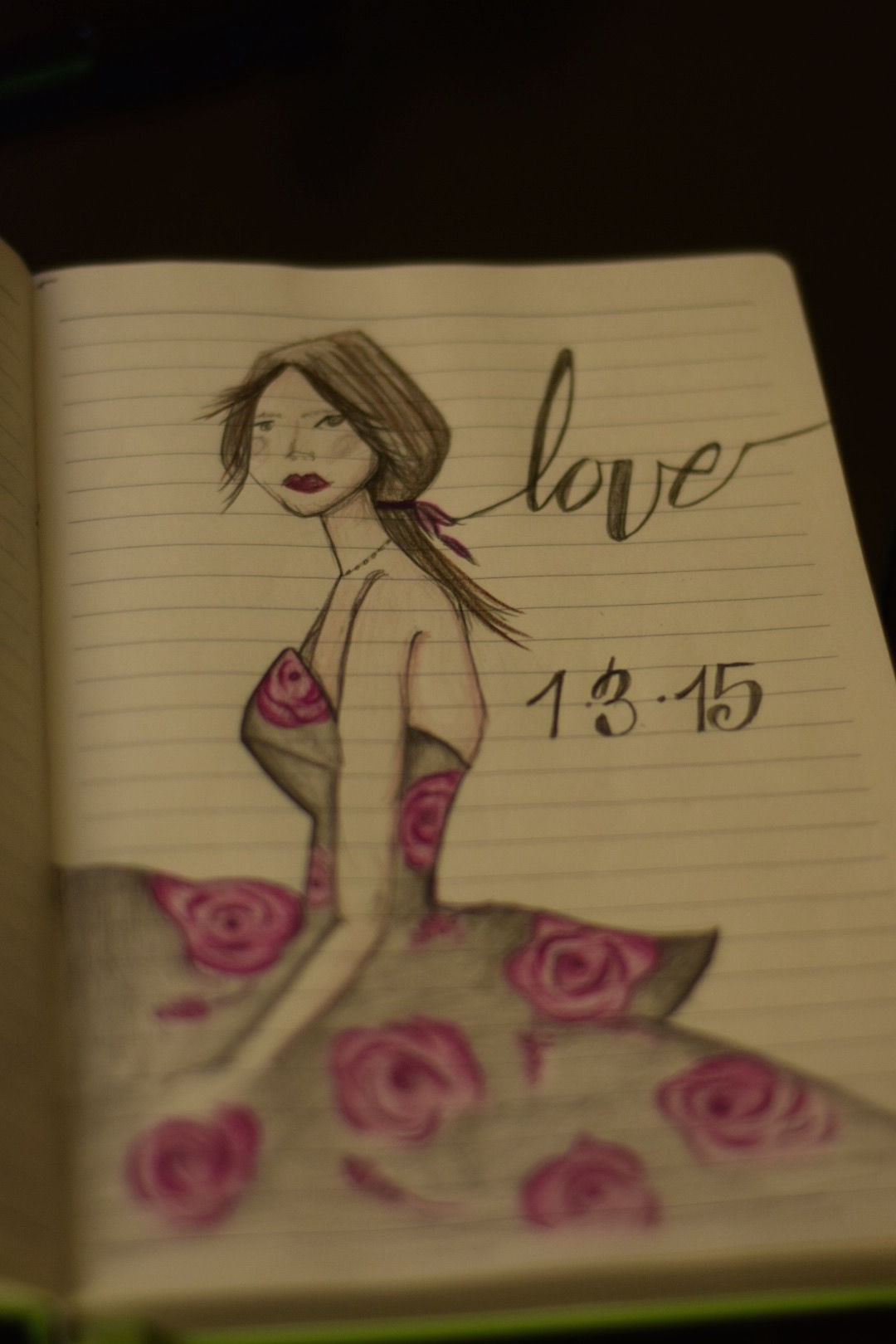 Love sketch by Maria Elisa Maxit, 1.3.15