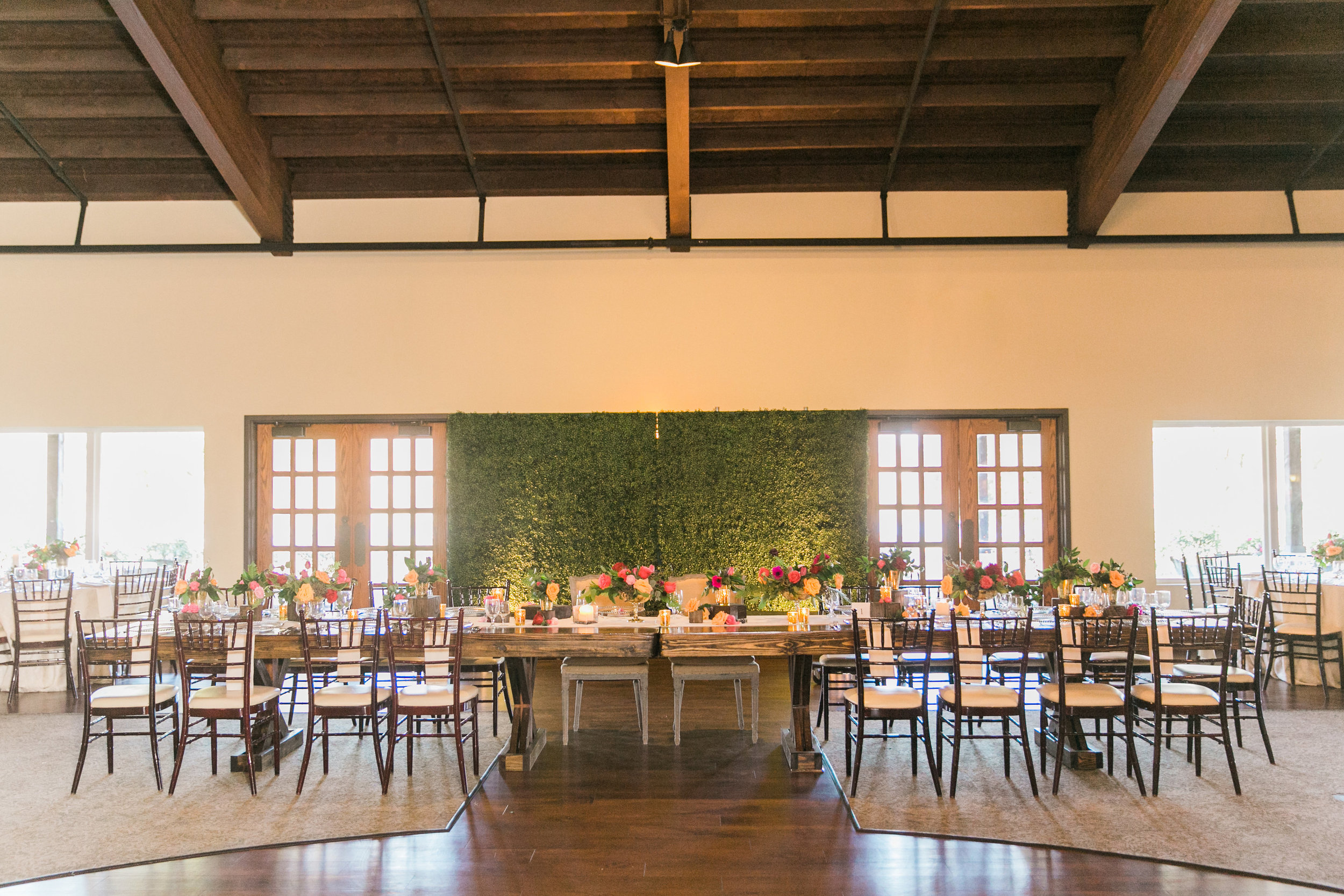head table maxit flower design houston texas
