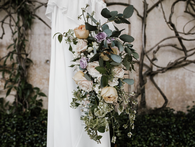 large organic garden bouquet by maxit flower design houston, tx