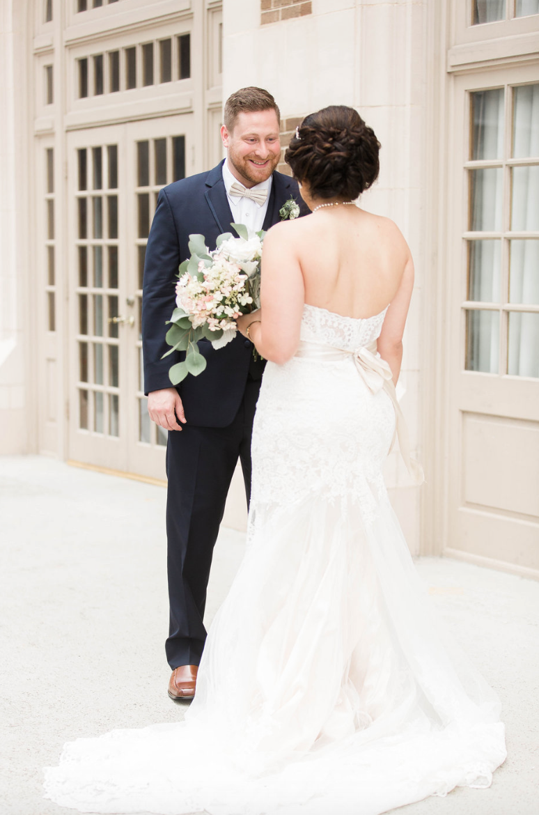 first-look-bride-goom-crystal-ballroom-airy-wedding-floral-by-maxit-flower-design-in-houston-texas