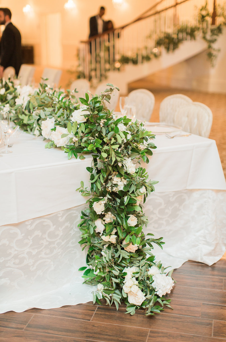 garden-garland-head-table-rose-ranunculus-white-greenery-ribbon-florals-by-maxit-flower-design-in-houston-texas