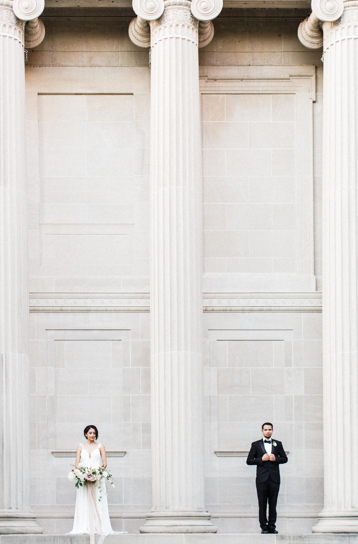 Bridget & Javier - Museum of Fine ArtsHouston Elopement / Marni Wishart Photography