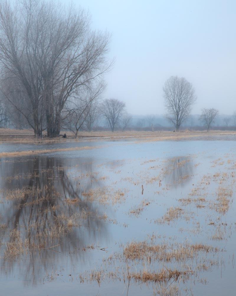 Spring Flood, near Cherokee Marsh