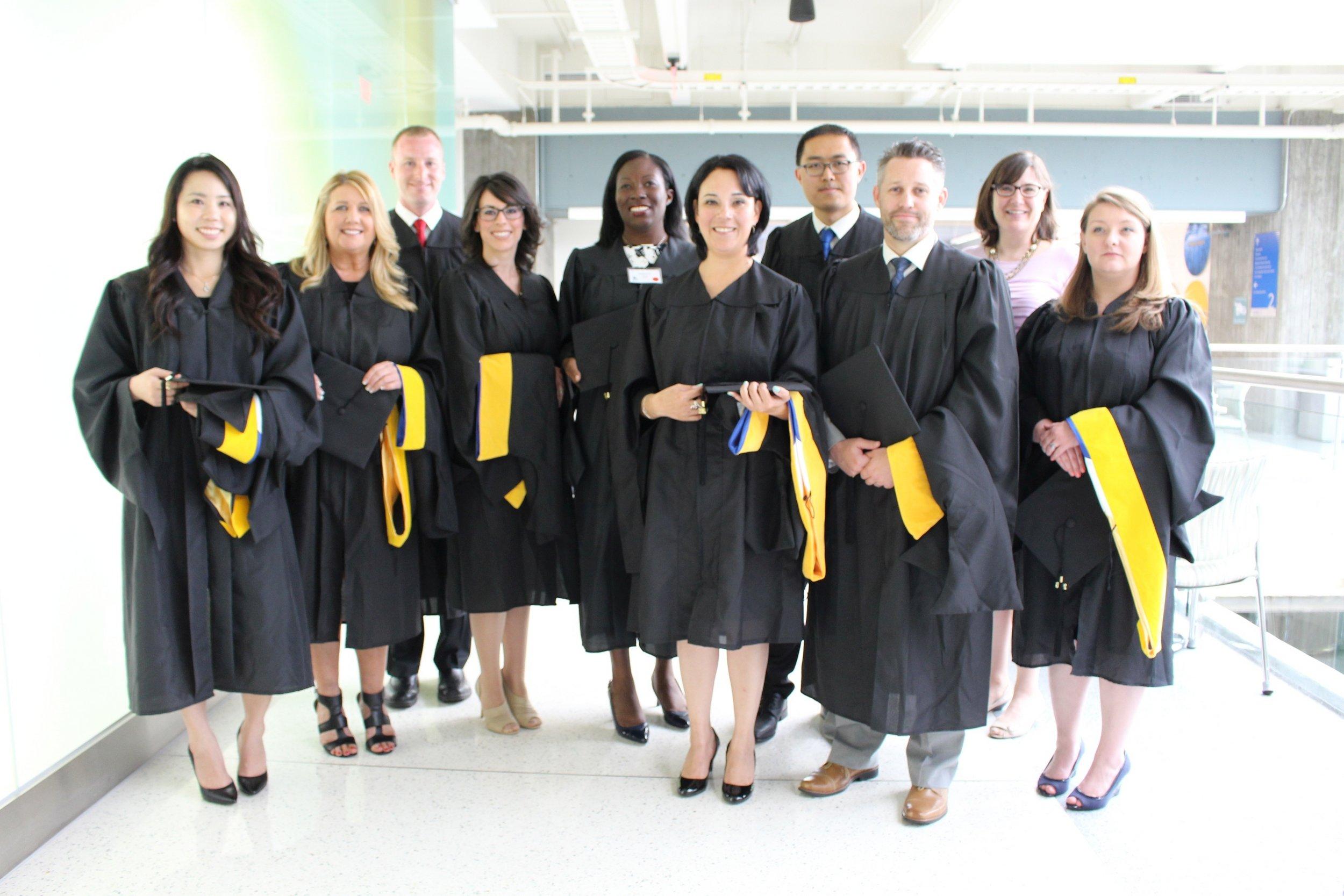 Congratulations, graduates! Class of 2016.