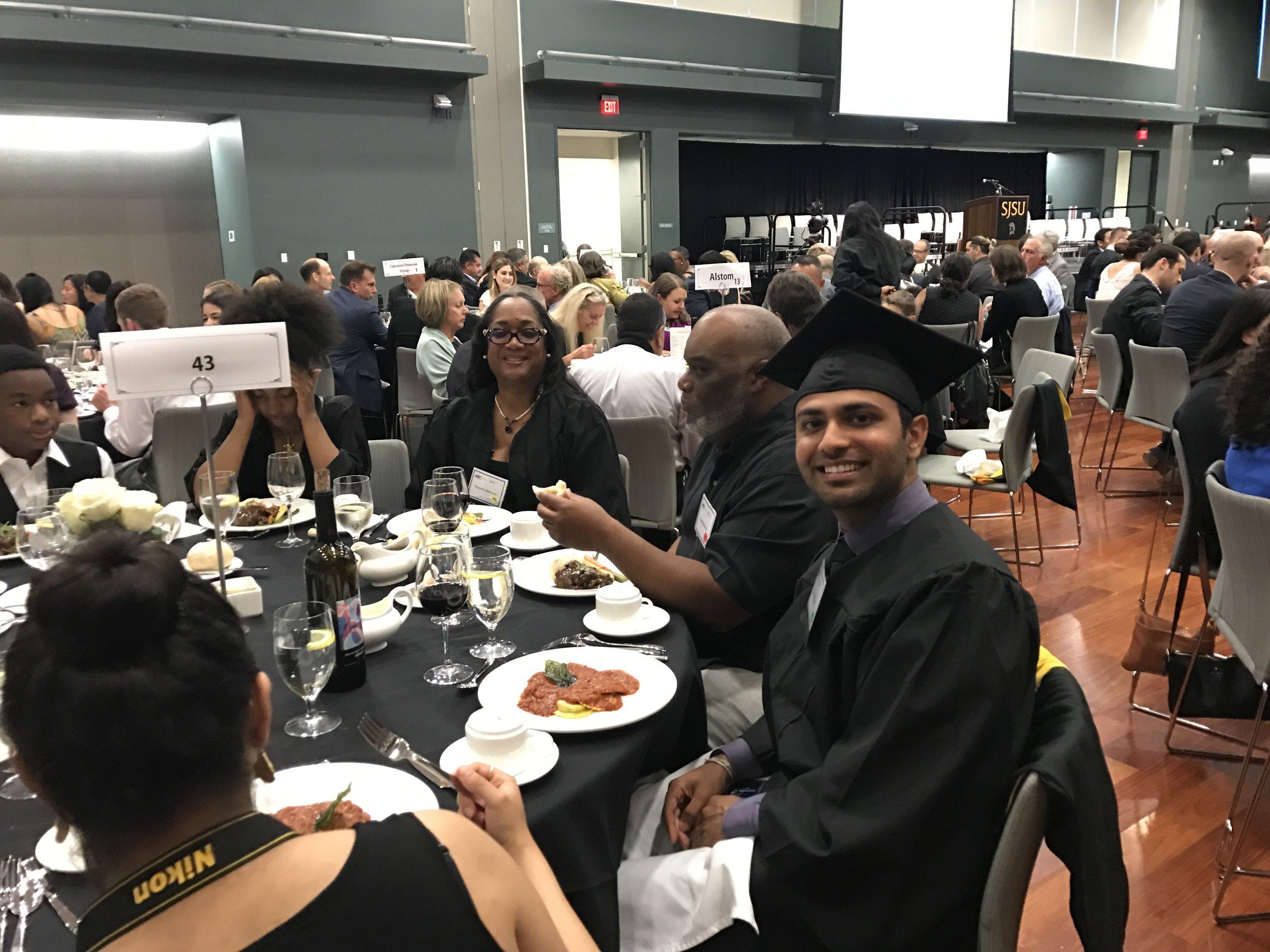 Shrenik Shah and Kim Mahoney Banquet.jpg