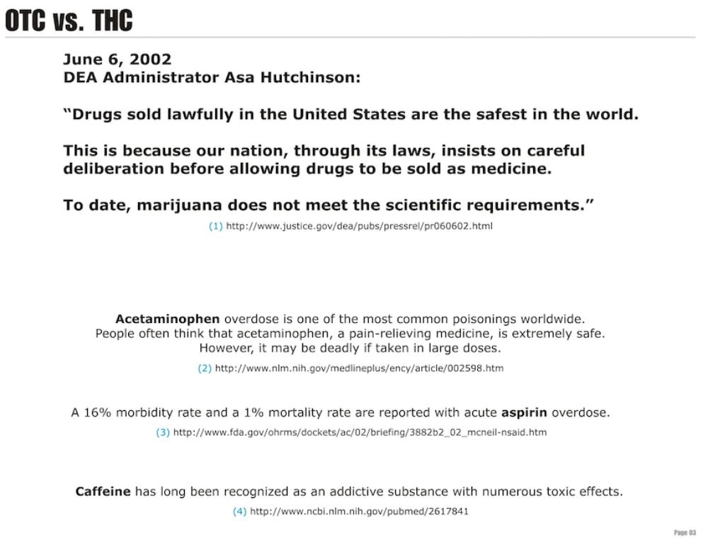 OTC vs THC