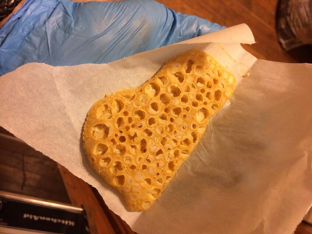 OG Kookie Crumble- I call it honeycomb style