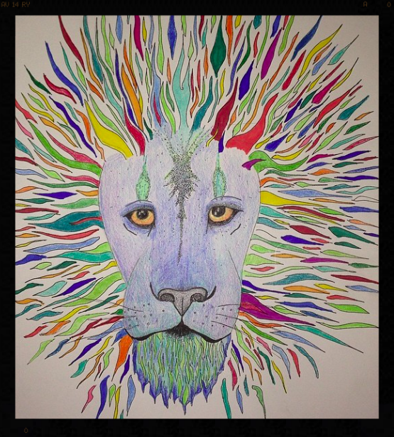 Very cool abstract Lion! Rawrrrrrrrrr!