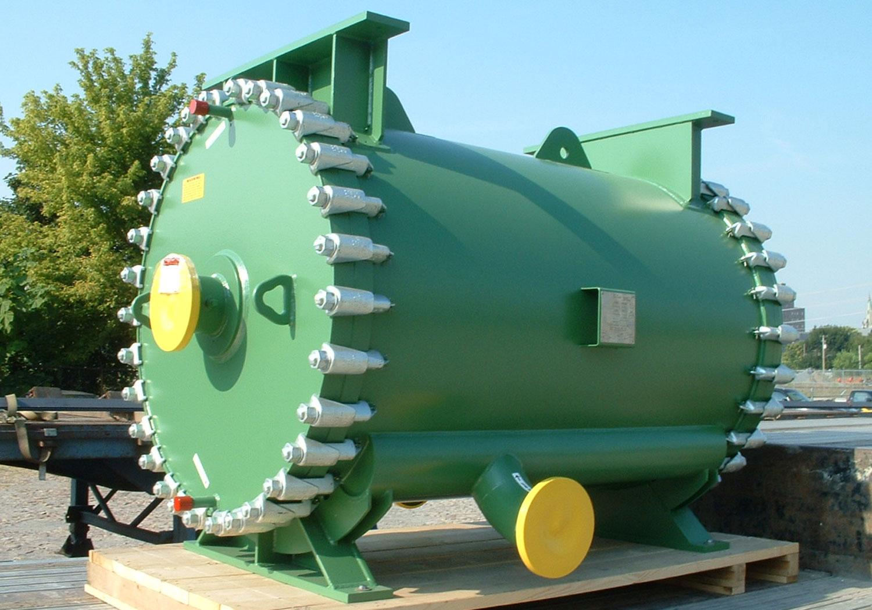 Spiral Heat Exchanger for Wash Oil Cooling