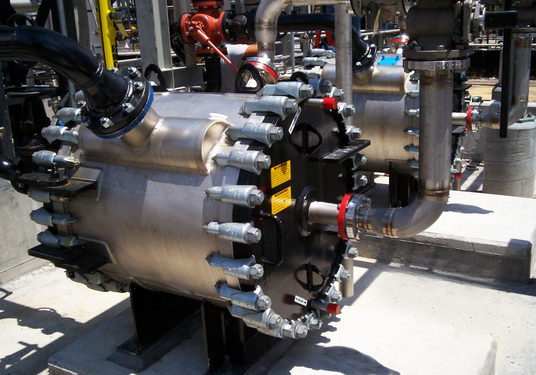 Stainless Steel Spiral Heat Exchangers