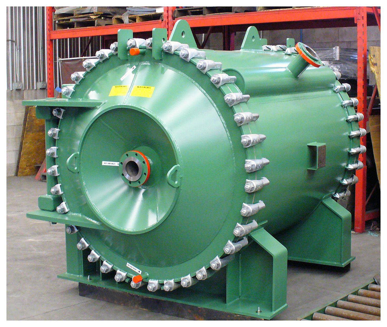 Spiral Heat Exchanger - PVC Slurry Interchanger