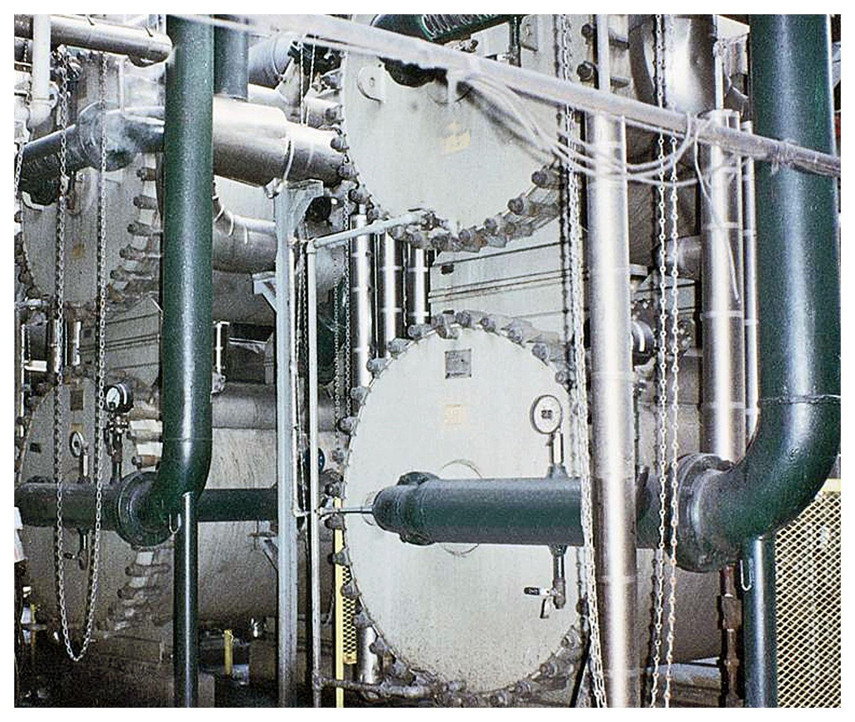 Spiral Heat Exchanger - Ammonia Liquor Coolers