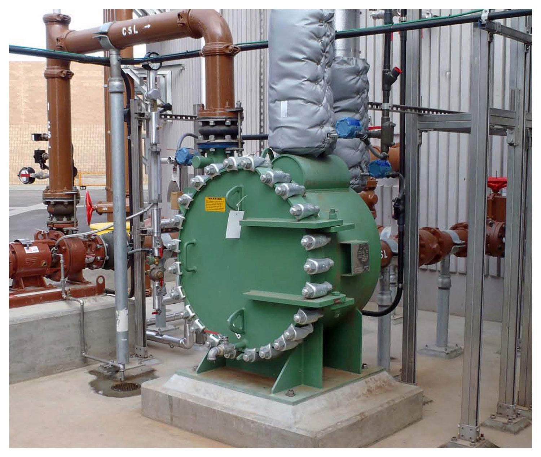 Spiral Heat Exchanger for Digester Sludge Heating