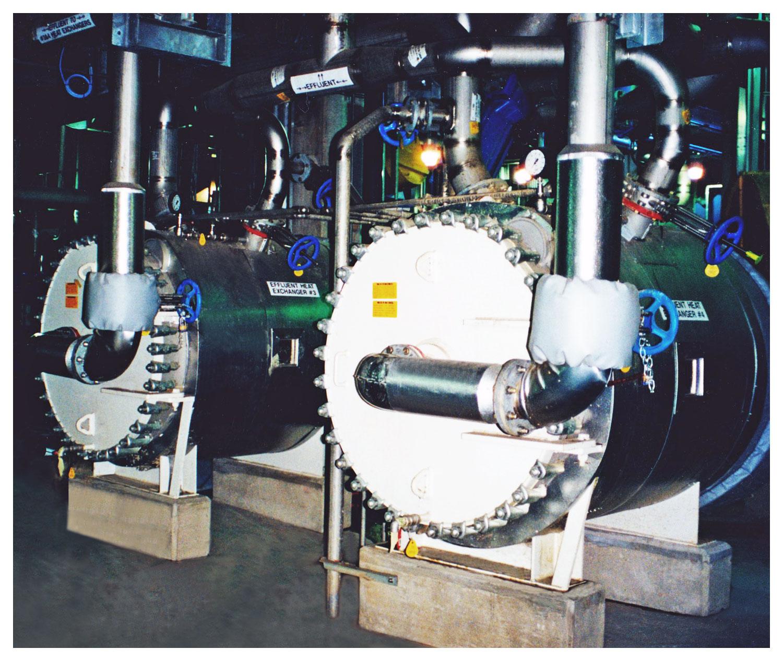 Spiral Heat Exchangers - Effluent Heat Recovery